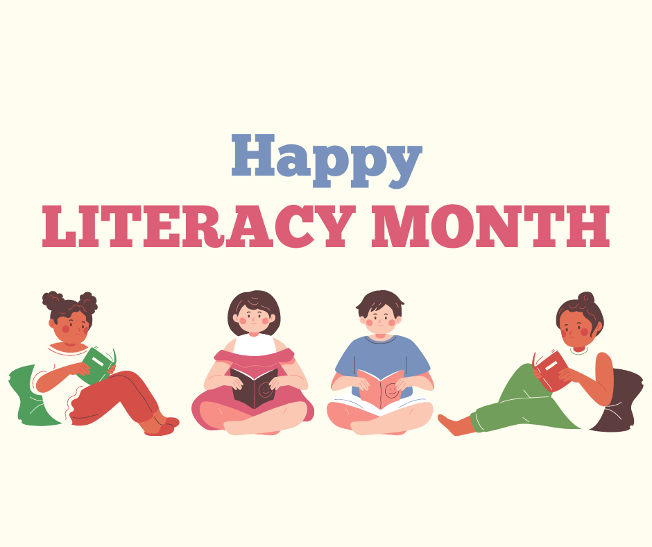 Let's Celebrate September As Literacy Month!